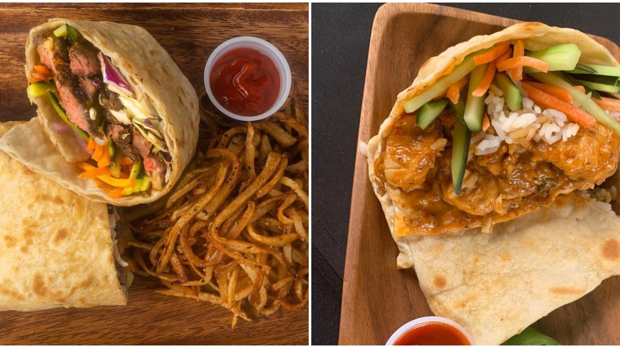 San Antonio's Build-Your-Own-Roti Spot Is Opening Soon