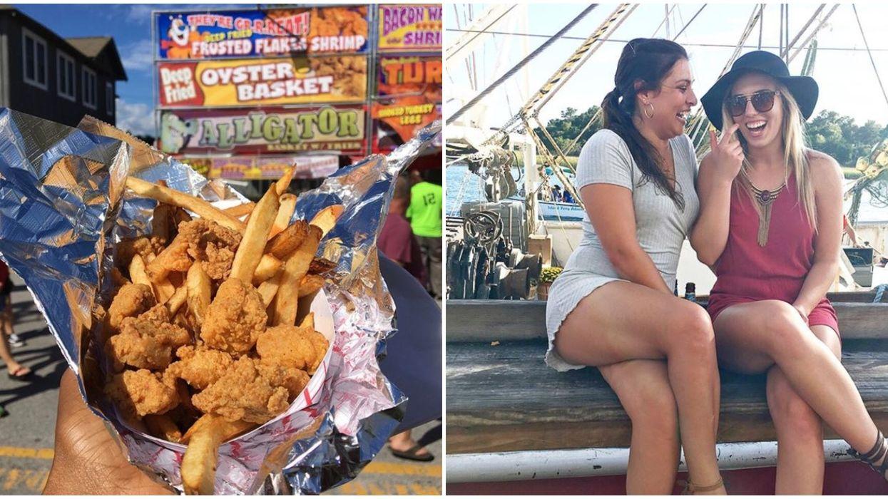 Free Seafood Festival In North Carolina Is A Boozy Nautical Frenzy