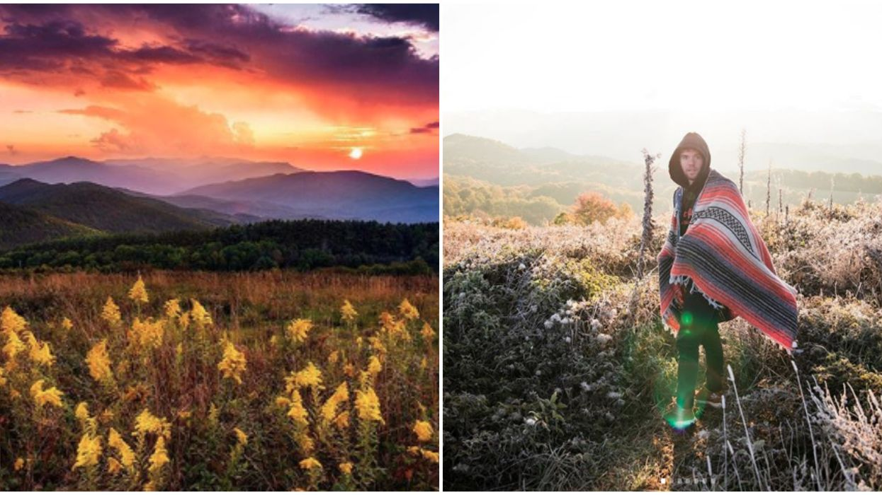 Max Patch North Carolina Sunset Hike