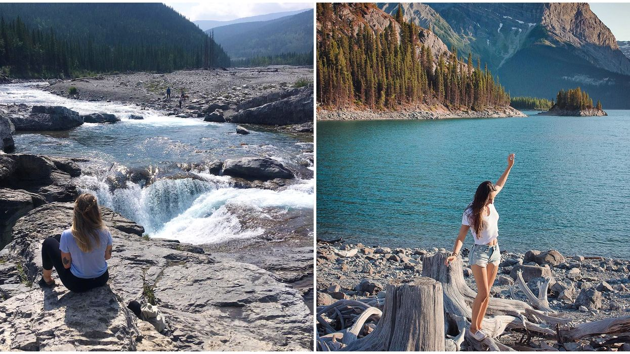 11 Easy Hikes In Alberta Perfect For A Solo Hike Just Outside Of Calgary