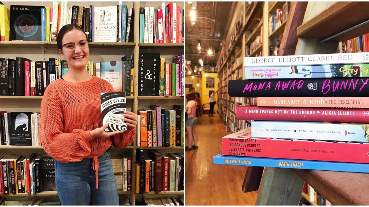 Calgary Bookstore Brings You Books For Free If You're Bored At Home
