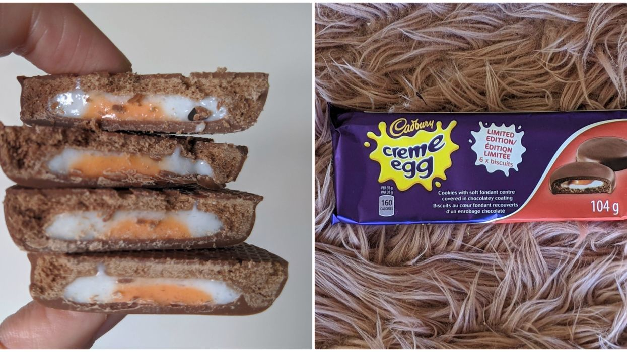 Cadbury's Creme Egg Cookies Exist & We Tried Them To See If They'll Change Your Life