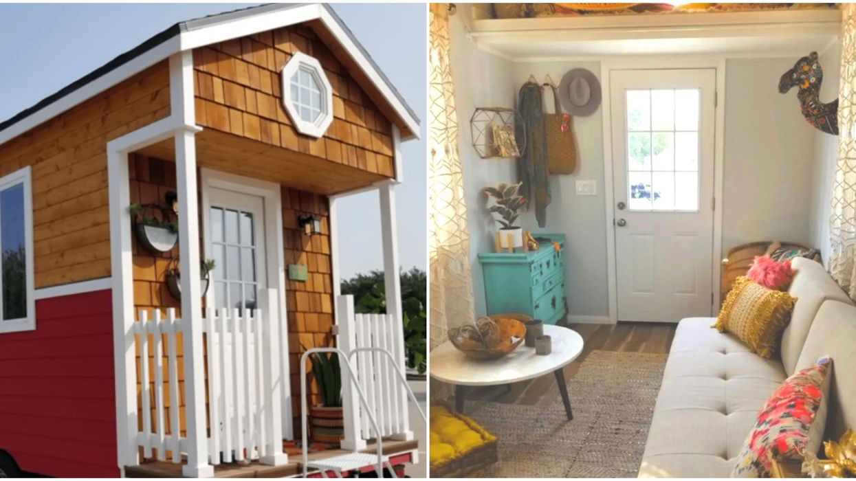 Someone Is Selling This Adorable Fully Furnished Tiny Cottage Near Dallas For 55K