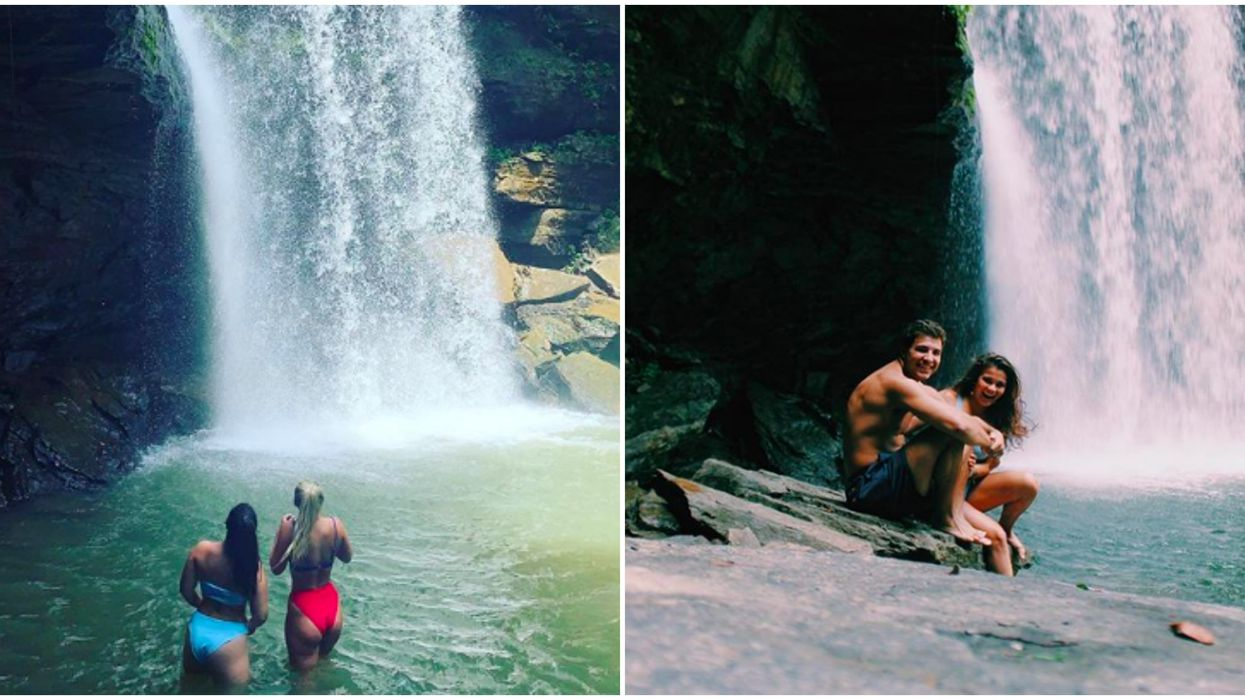 Best Waterfalls In Tennessee Include Spot With An Emerald Aqua Oasis