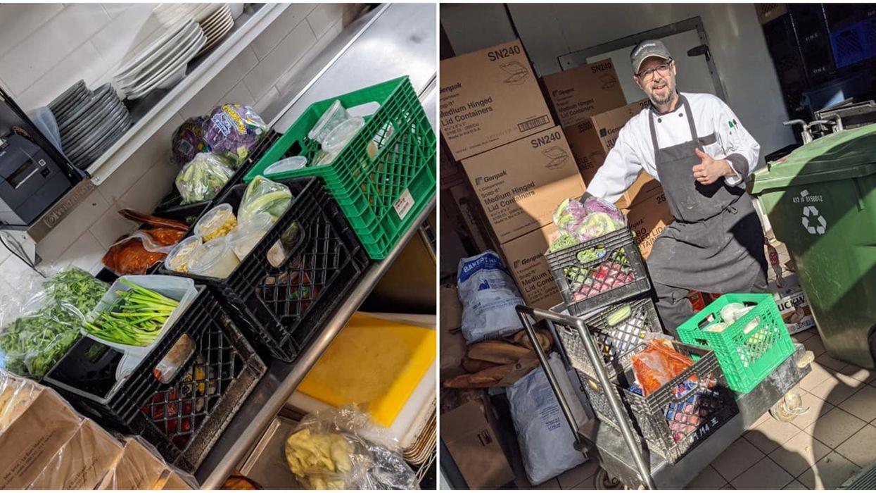 Un resto de Montréal ferme à cause du coronavirus et donne sa nourriture à Accueil Bonneau
