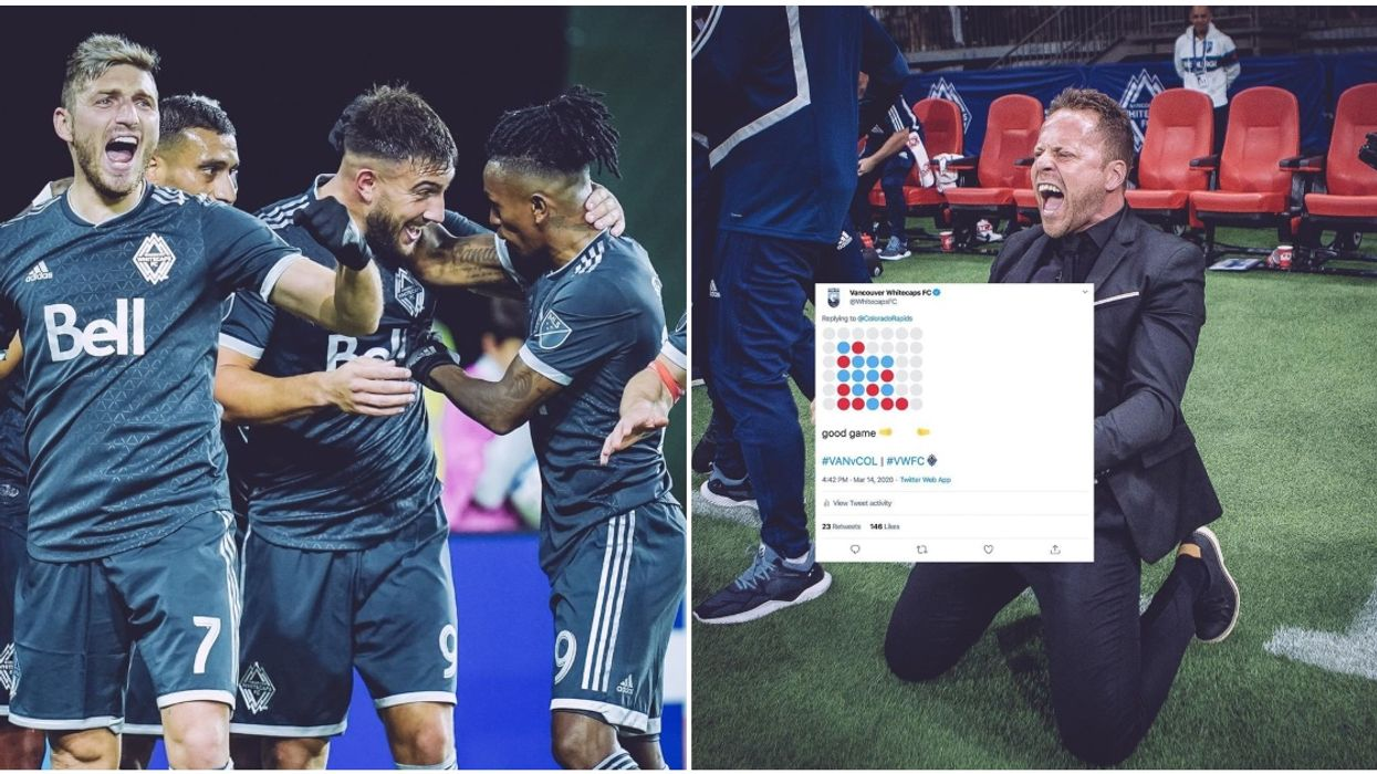 Vancouver Whitecaps Plays Connect 4 On Twitter Because The Season Was Suspended
