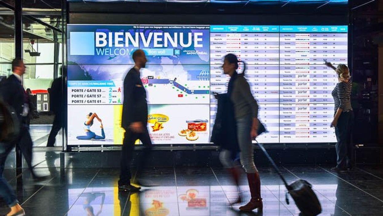 COVID-19: Montréal envoie une équipe de sensibilisation à l'aéroport