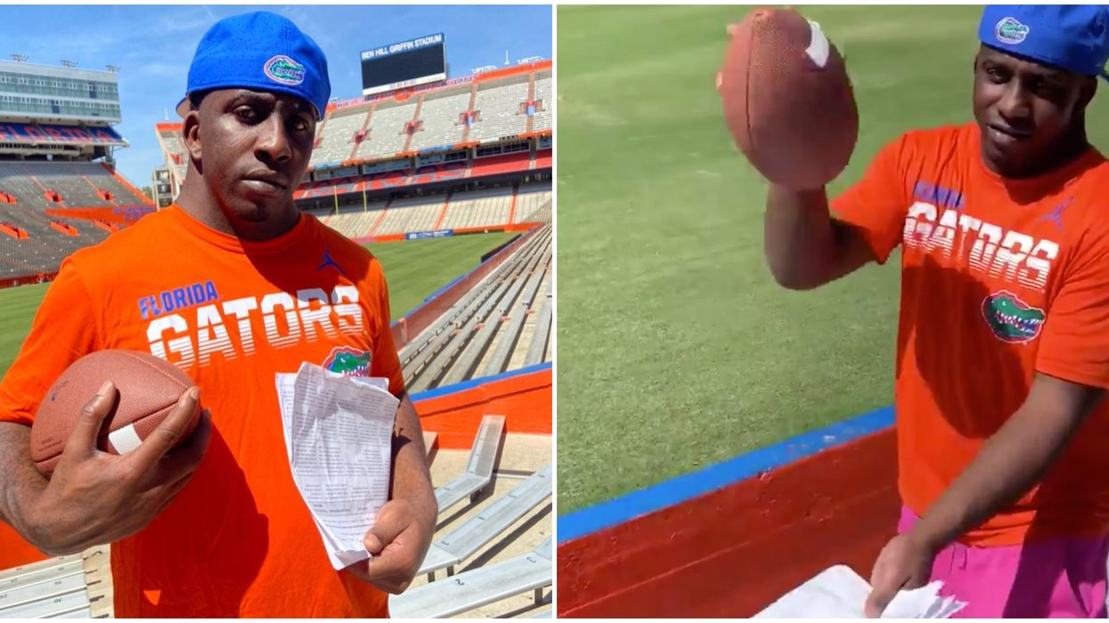 """Florida Gators Sign Charles McDowell """"Wide Neck"""" Ex-Convict To The Team"""