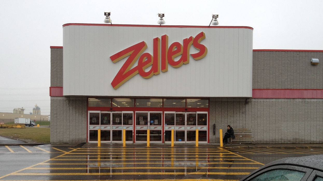 You Know Who Would Have Toilet Paper? Zellers.