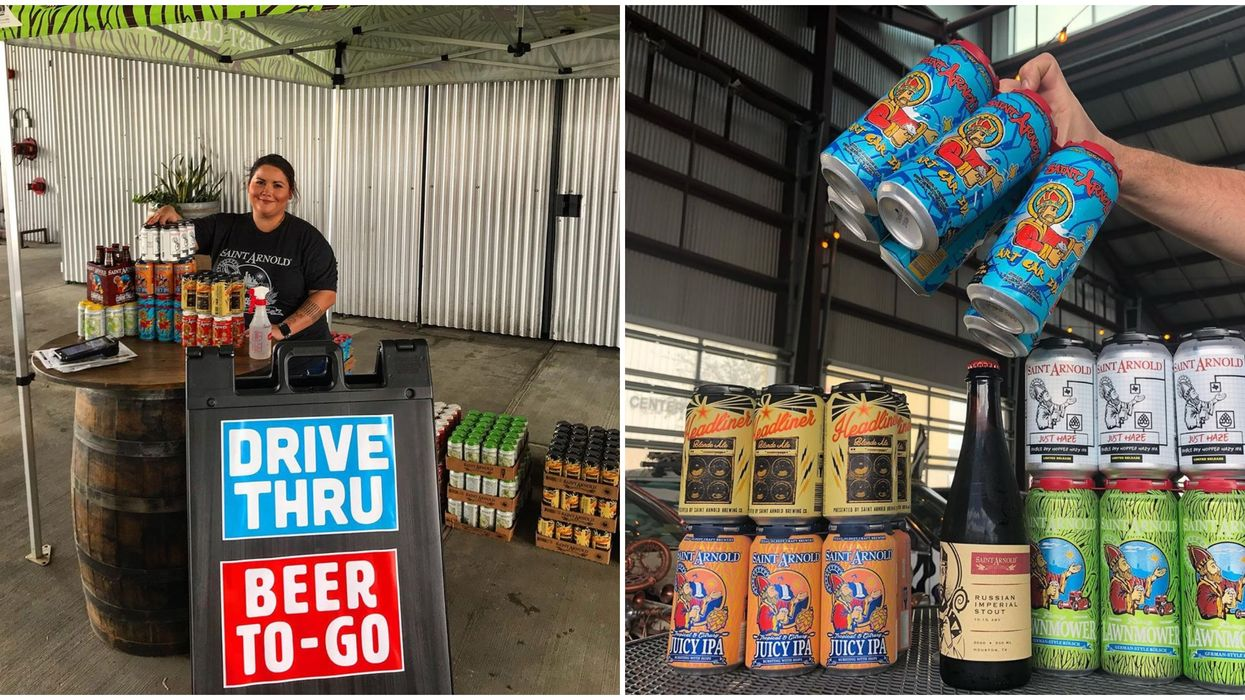 A Beer Drive-Thru Is At A Houston Brewery & You Can Even Get Pizza