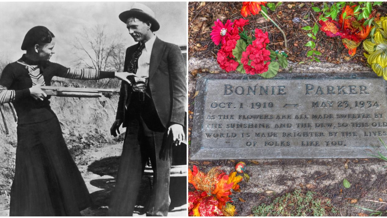 You Can Actually Visit Bonnie & Clyde's Graves In Dallas