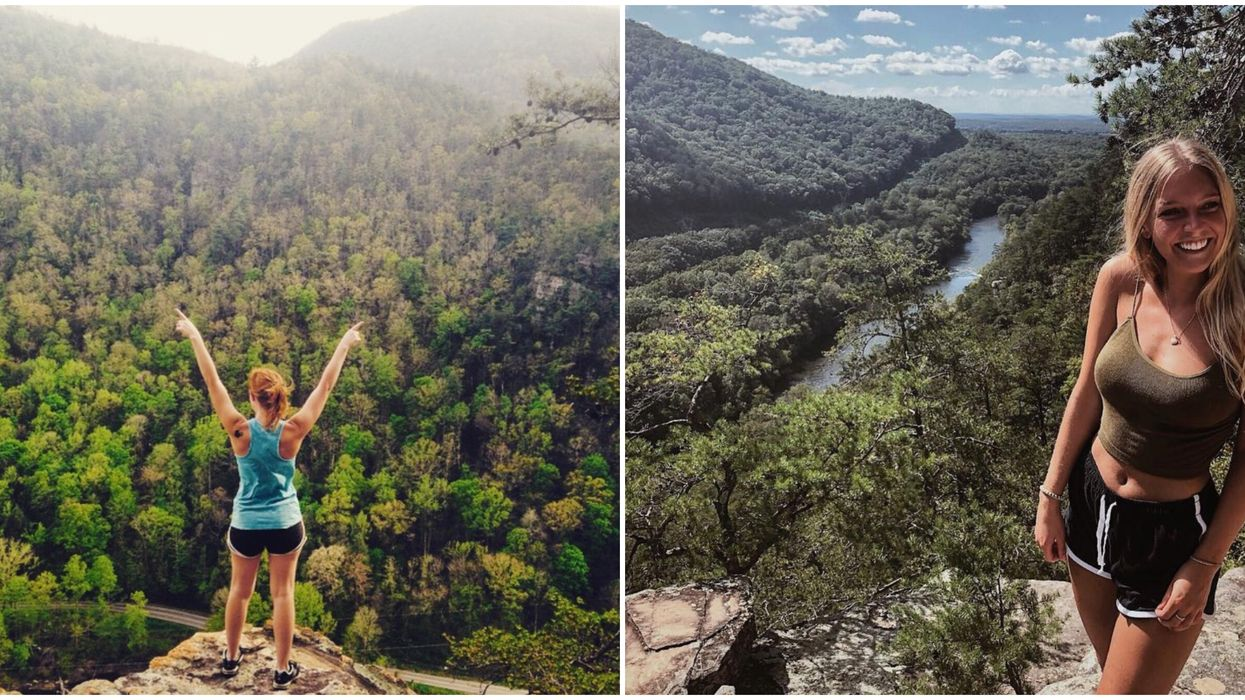 This Solo Hike In Tennessee Delivers Breathtaking Views