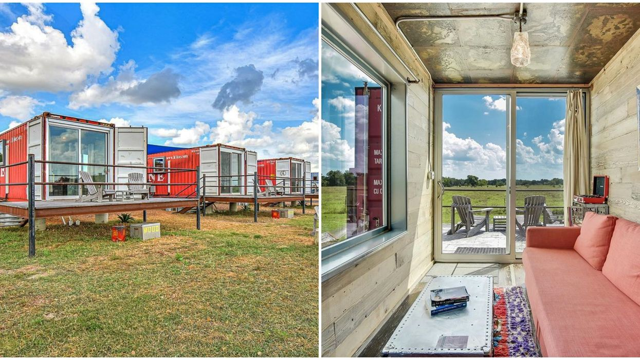 There Is The Cutest Shipping Container Hotel Just A Short Drive From Austin