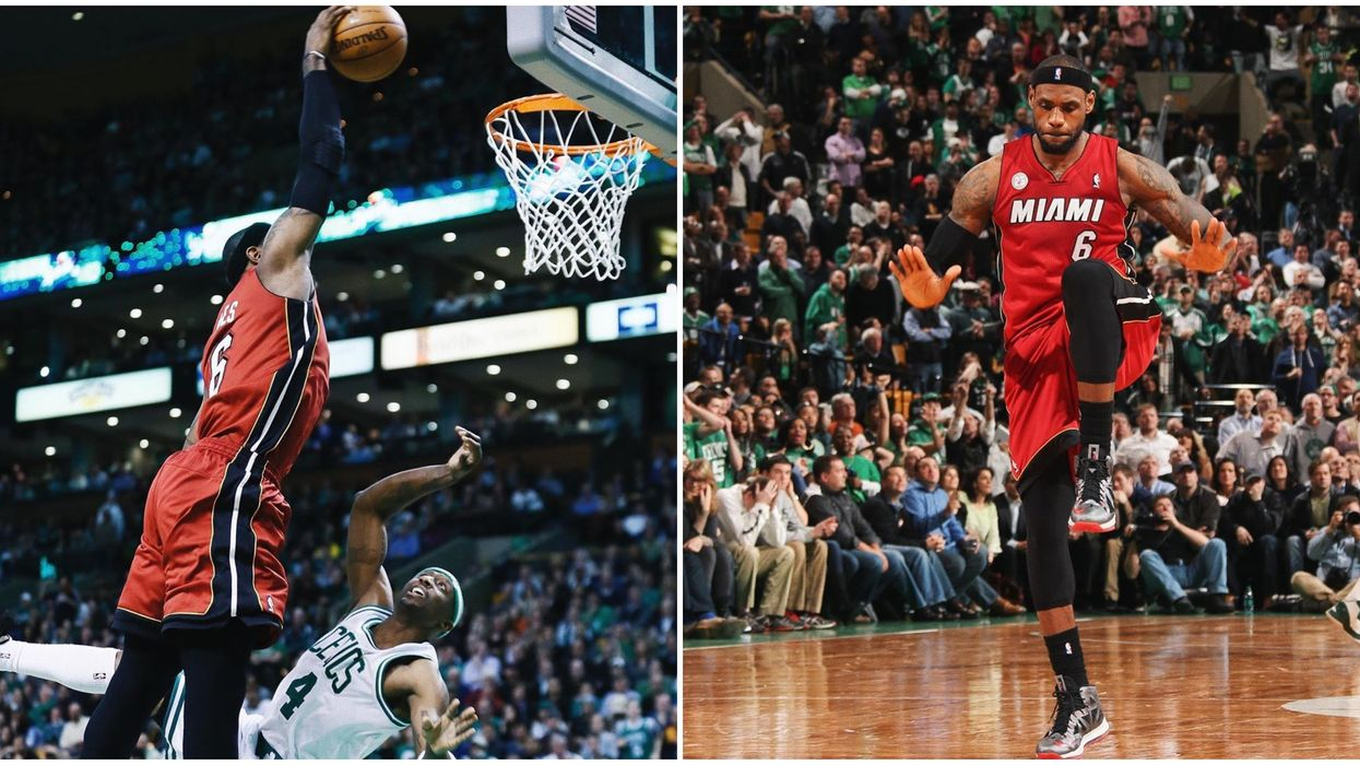 Ex Miami Heat Player LeBron James Landed One Of His Greatest Slam Dunks 7 Years Ago