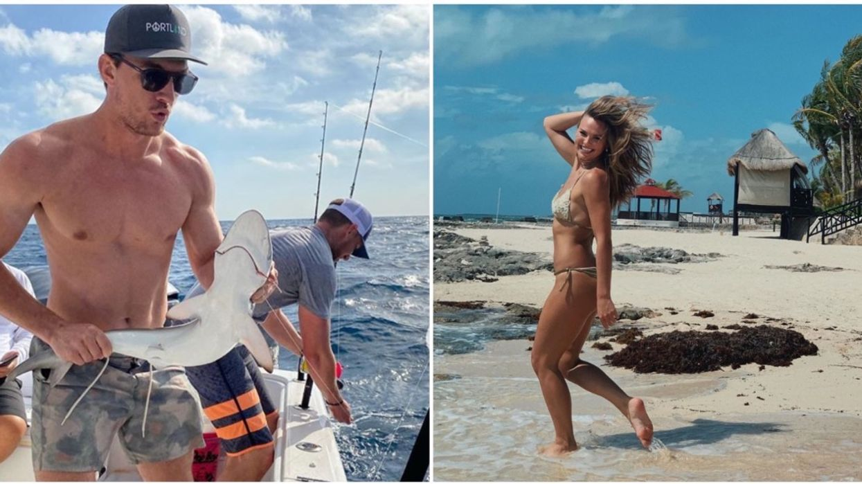 Bachelor Favorites Hannah B & Tyler C Are In Florida Posting Their Social Distancing Fun