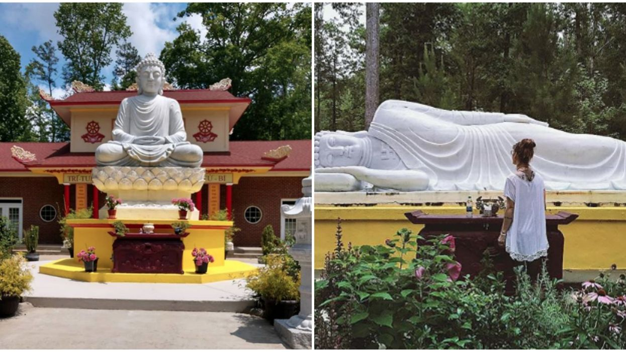 Things To Do Near North Carolina Include Taking A Solo Trip To This Hidden Monastery