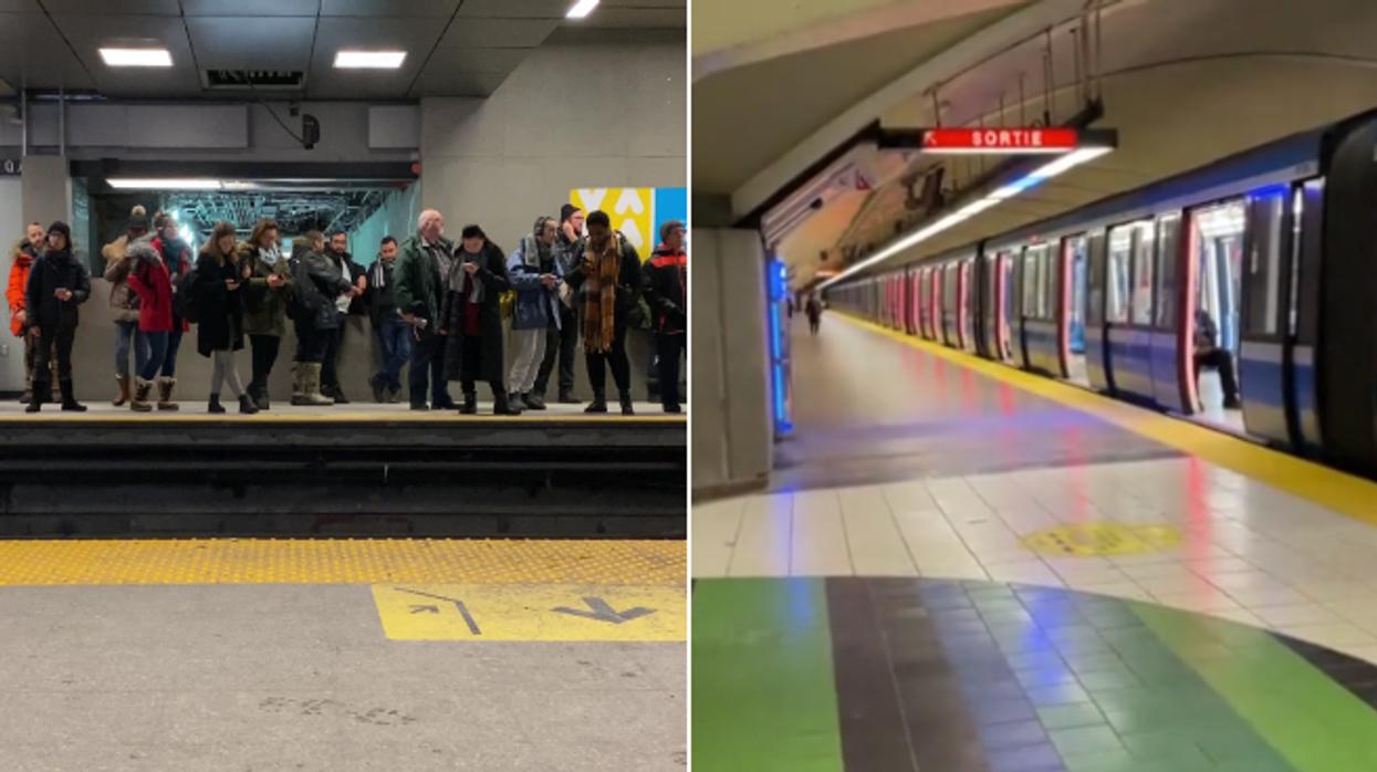 Ces photos de Montréal avant et pendant la pandémie de COVID-19 sont frappantes