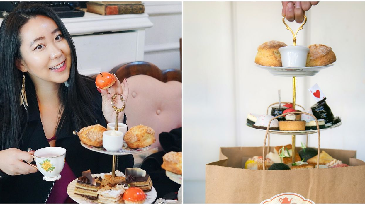 High Tea In Vancouver: You Now Get It To Go So You Can Be Fancy At Home