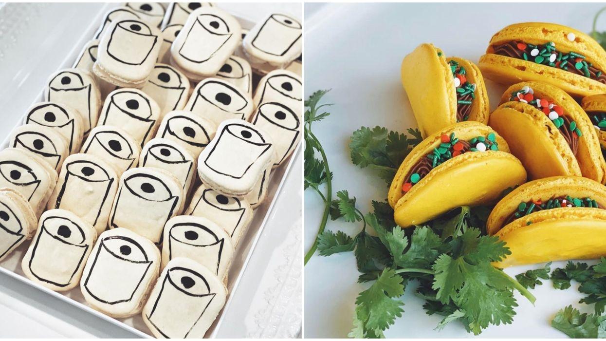 Sweet Dee's In Phoenix Is Selling Dessert Survival Kits With Toliet Paper Macarons