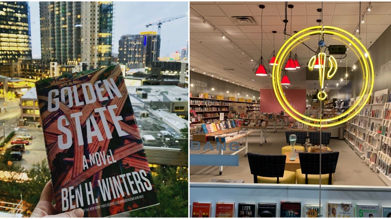 This Colorful Book Store In Dallas Has BOGO Books & Curbside For A Limited Time
