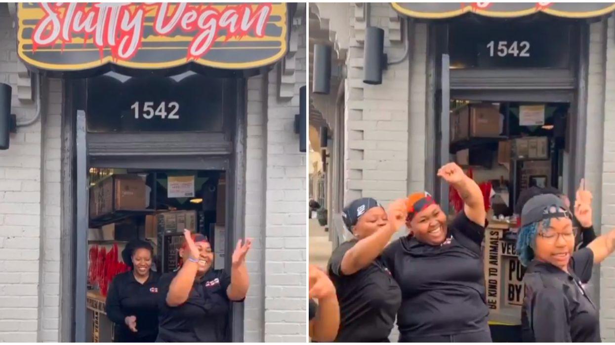Best Burgers In Atlanta Are Spreading Smiles Via TikTok Dance Party