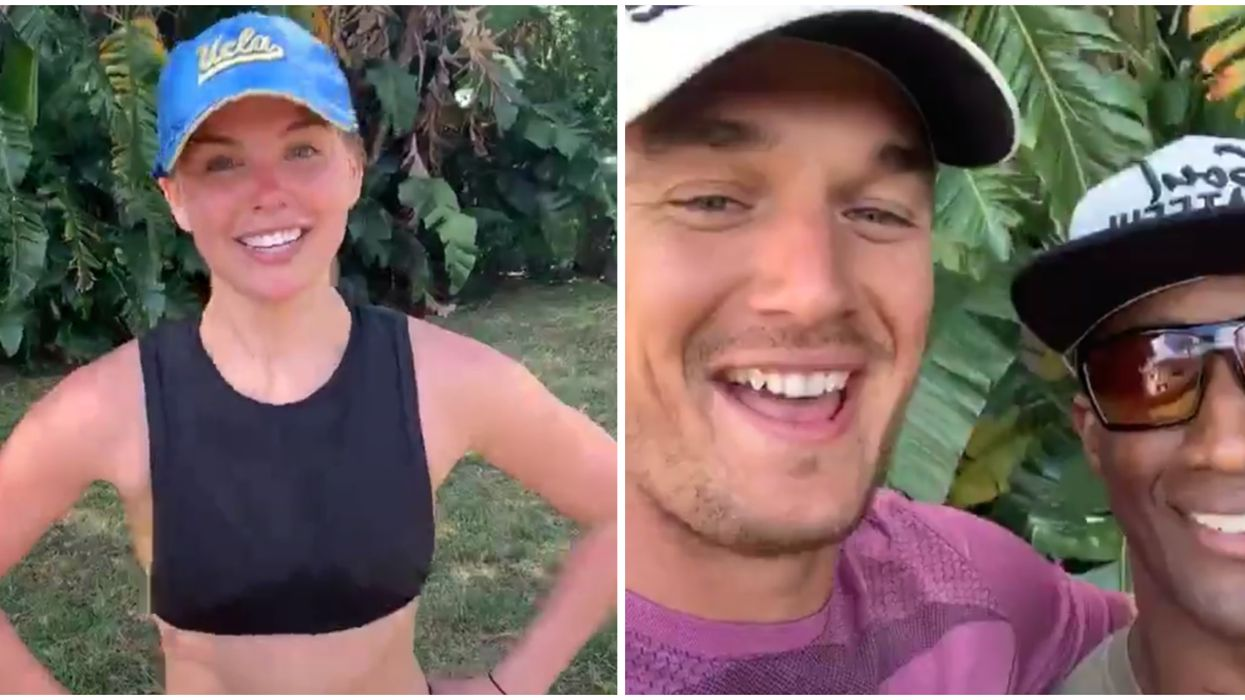 Bachelorette Favorites Hannah B And Tyler C Spotted Working Out In Florida With Phil Fit