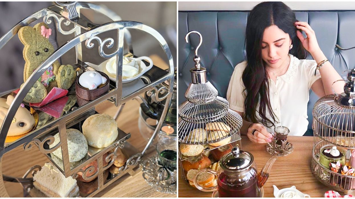 Toronto's Bunny Afternoon Tea Is Available To Enjoy At Your Own Home