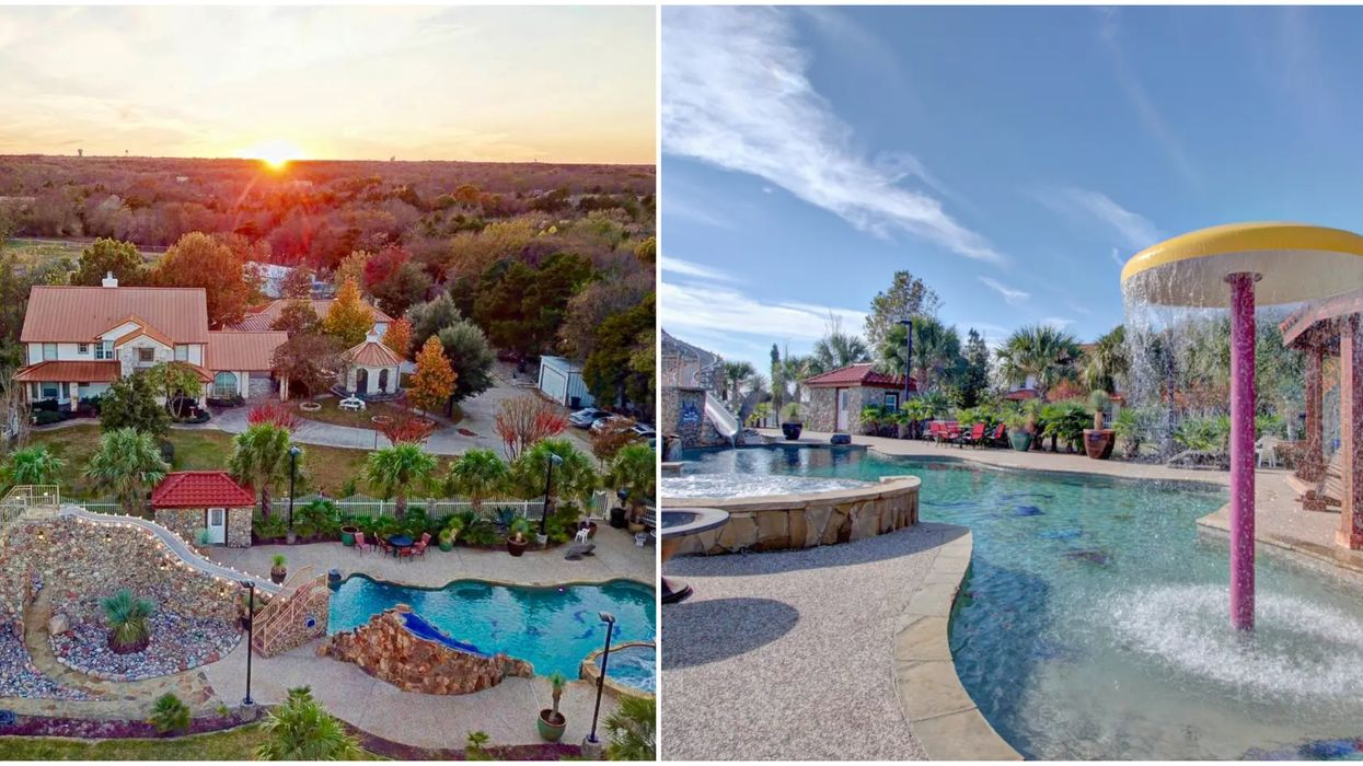 You & 15 Friends Can Rent An Entire Airbnb Waterpark Resort In Texas