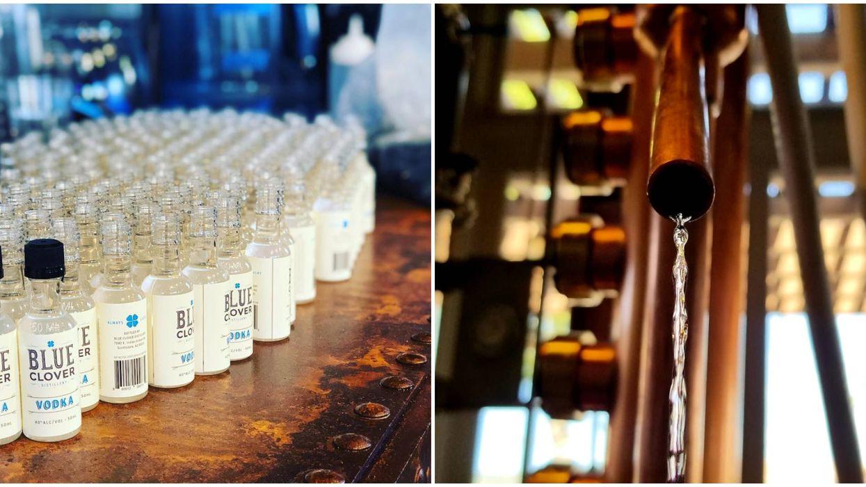 Blue Clover Distillery In Scottsdale Is Using Their Equipment To Make Hand Sanitizer