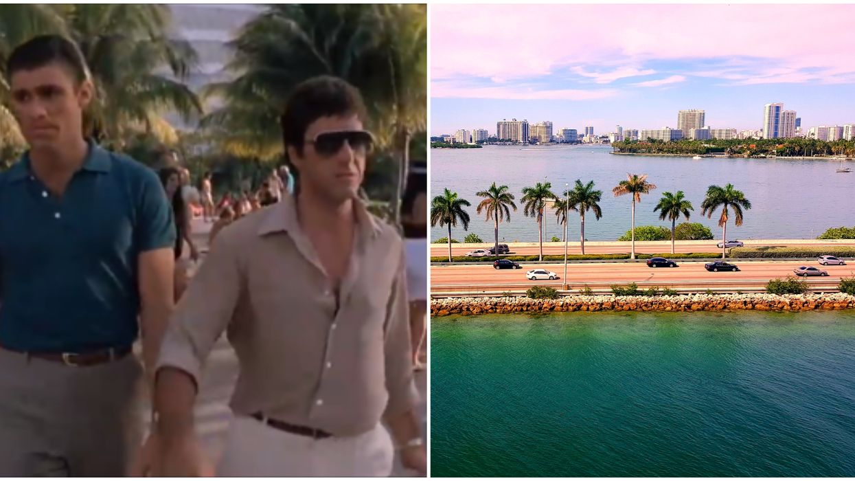 These Movies Set In Miami Weren't Actually Filmed In the City