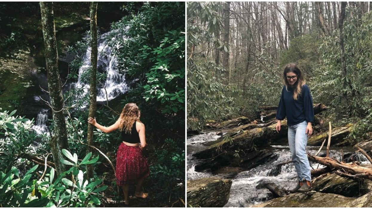 Waterfall In North Carolina Can Be Found On This Scenic Hidden Trail