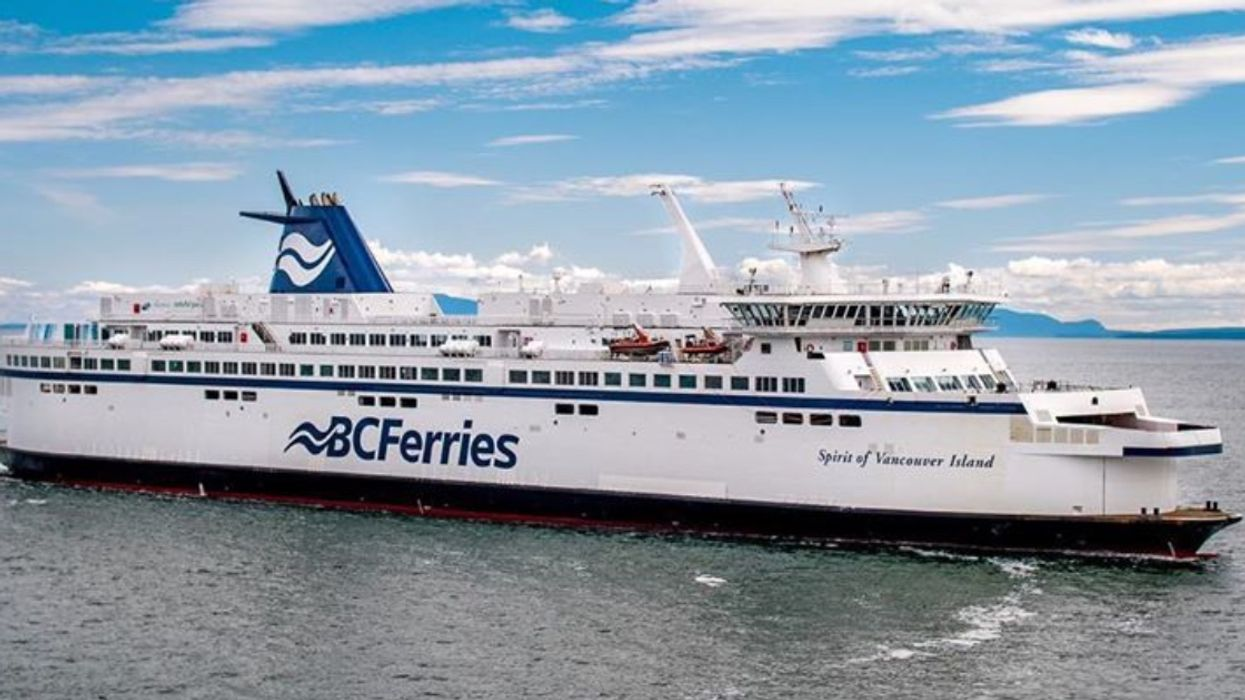 BC Ferries Just Cancelled Food Services & Donated 2,400 Pounds Of Perishables To Charity