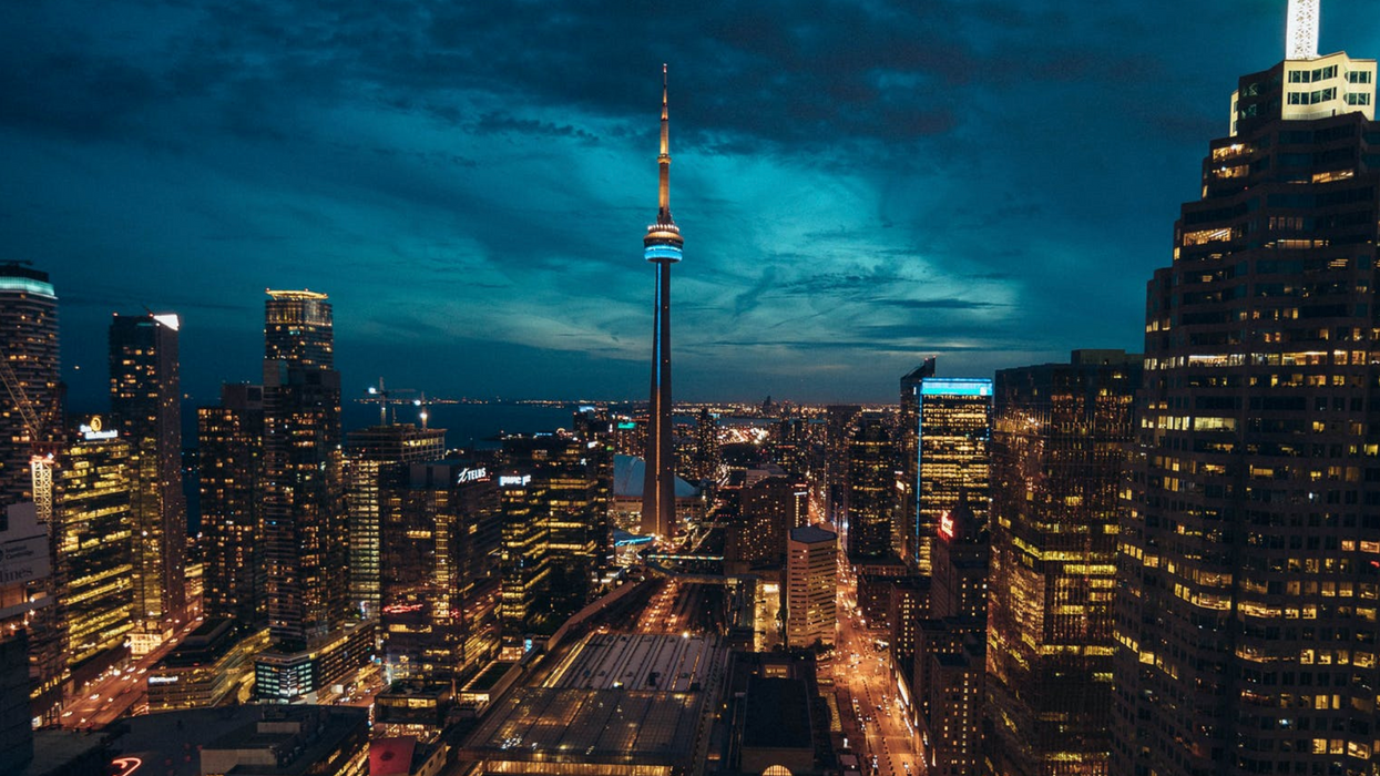 The CN Tower Will Have Light Shows Every Night To Brighten The City's Spirits