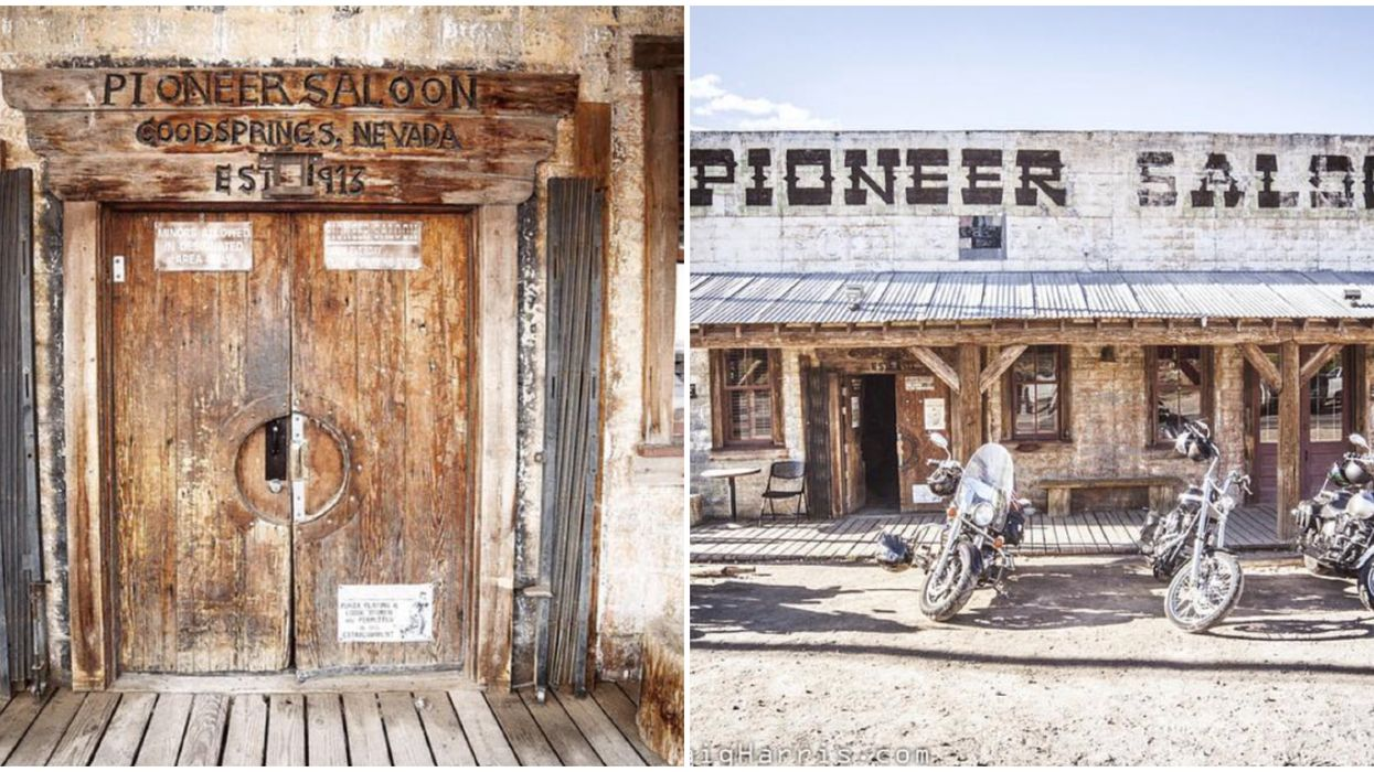 The Pioneer Saloon in Las Vegas Is The Perfect Place For A Ghost Hunt