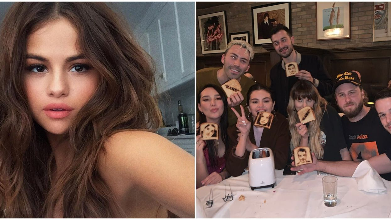 Selena Gomez Has A Toaster That Might Be Merch For Her Album Rare