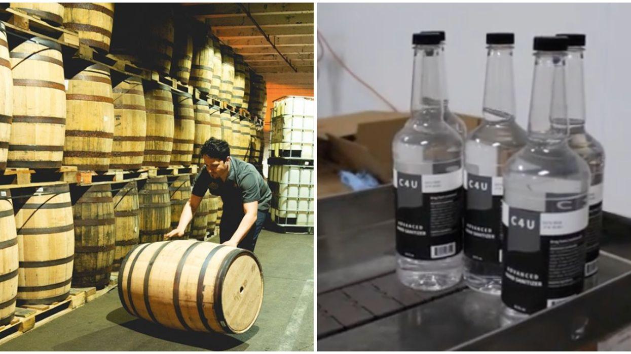 Houston Distillery's Hand Sanitizer Is Hitting Shelves Near You