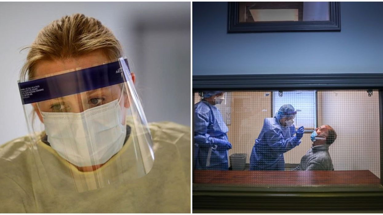 Edmonton Nurses Are Refusing To Swab Patients For COVID-19 Until They Get N95 Masks