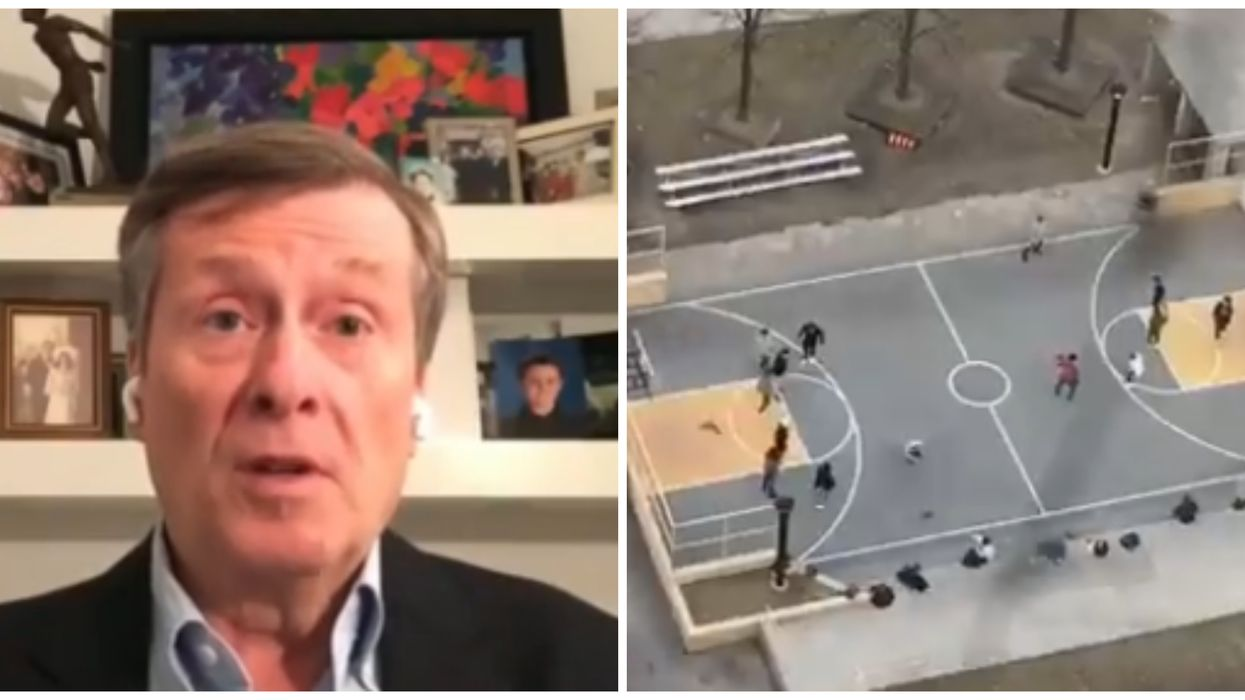 COVID-19 In Toronto: Tory Said 'Too Many People' Were Hanging Out In Public This Weekend