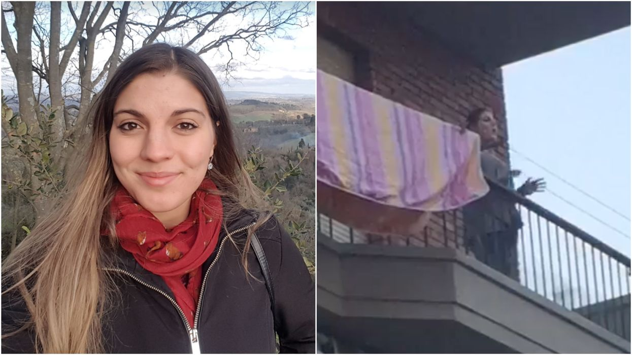 Canadian Stuck In Italy Shares How Her Neighbours Comforted Her In Quarantine (VIDEO)