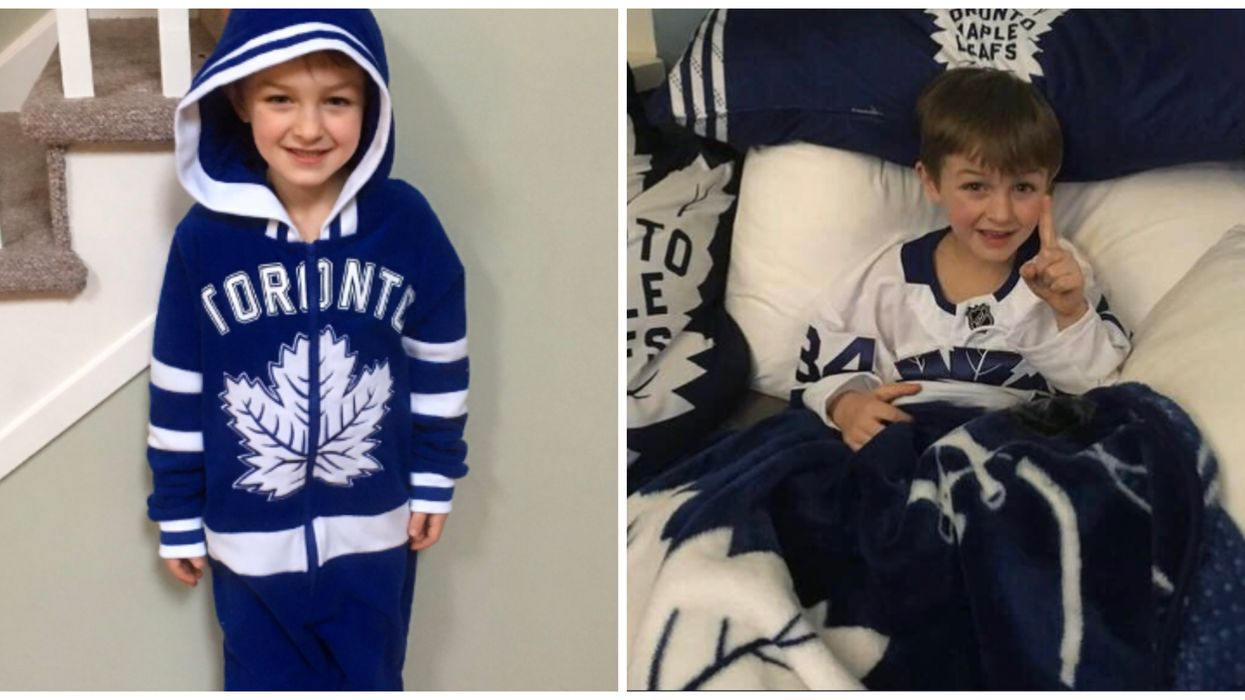 Leafs Players Surprised A Kid After His Birthday Plans Got Cancelled Due To COVID-19