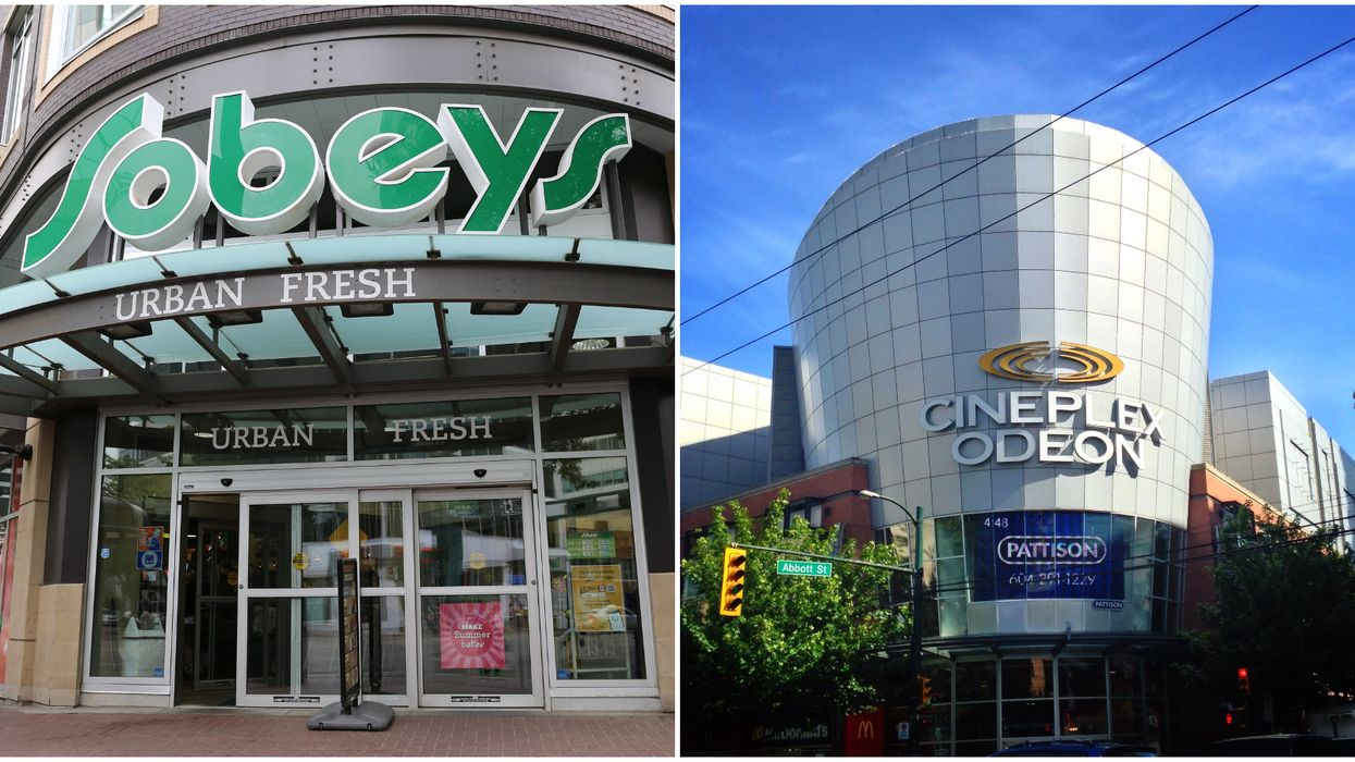 COVID-19 In Canada Leads Sobeys To Hire Laid-Off Cineplex Employees