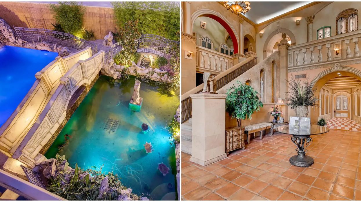 This Airbnb In Las Vegas Looks Like A Palace With Two Of Everything