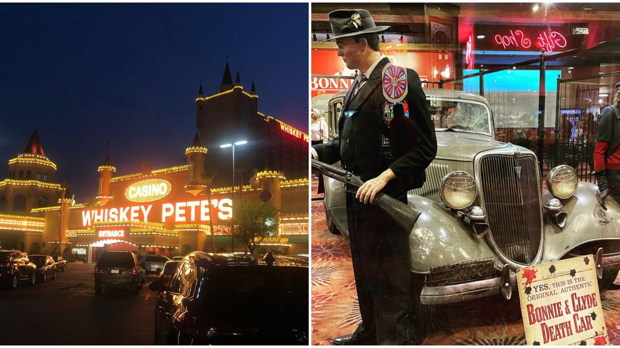 Whiskey Pete's Hotel Outside Vegas Is One Haunted Hotel