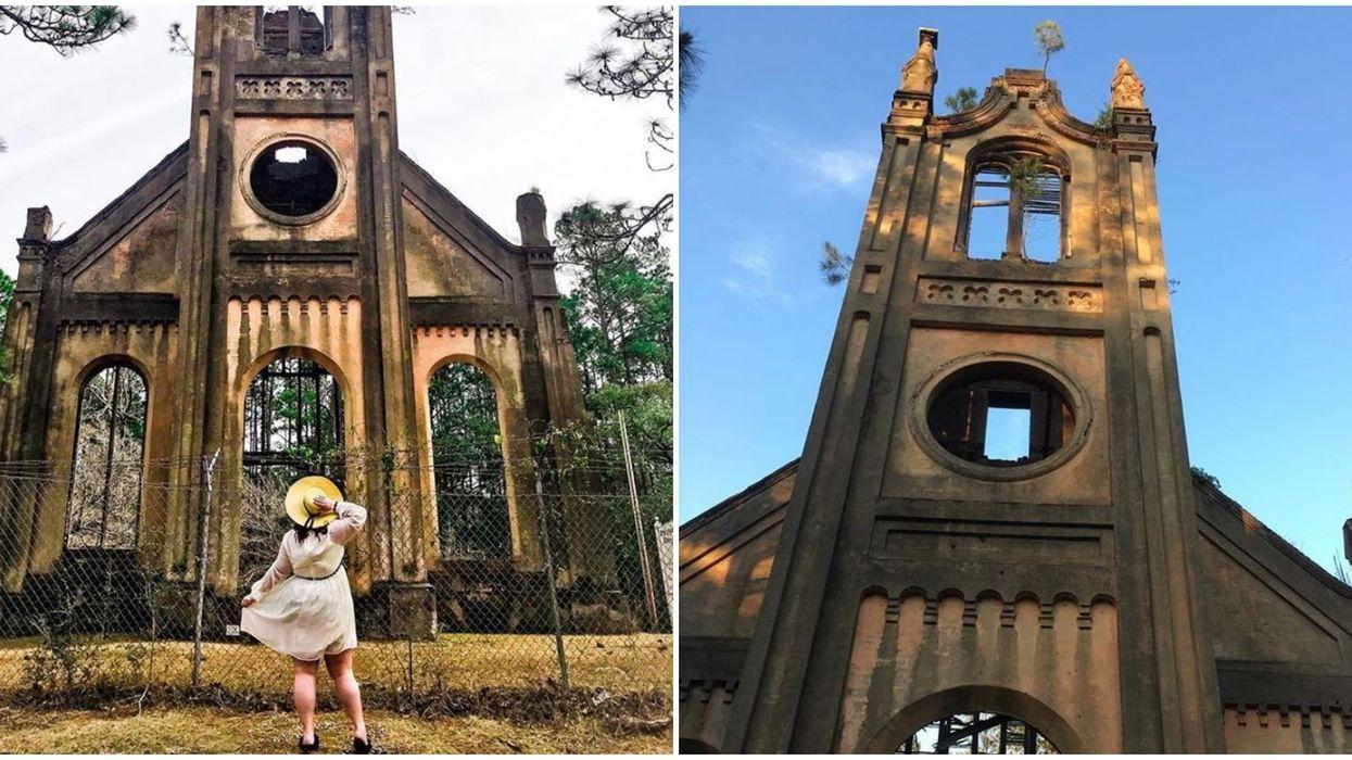 Abandoned Church In South Carolina Has A Spooky History