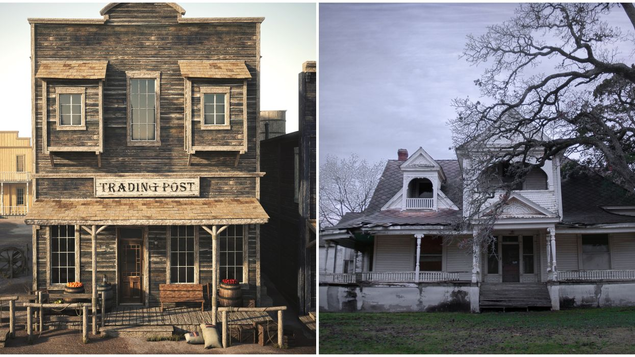 13 Haunted Spots In Texas With Legends That Will Keep You Up At Night