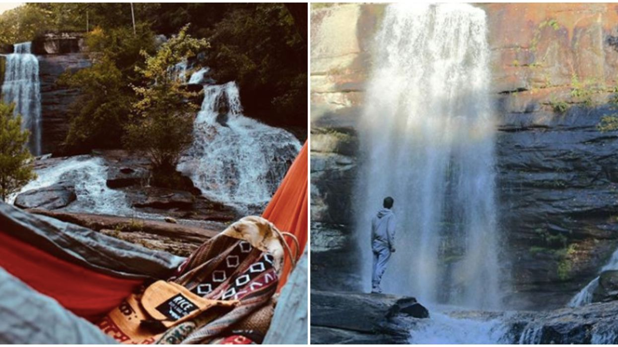 Secret Hike In South Carolina Leads To Two Waterfalls