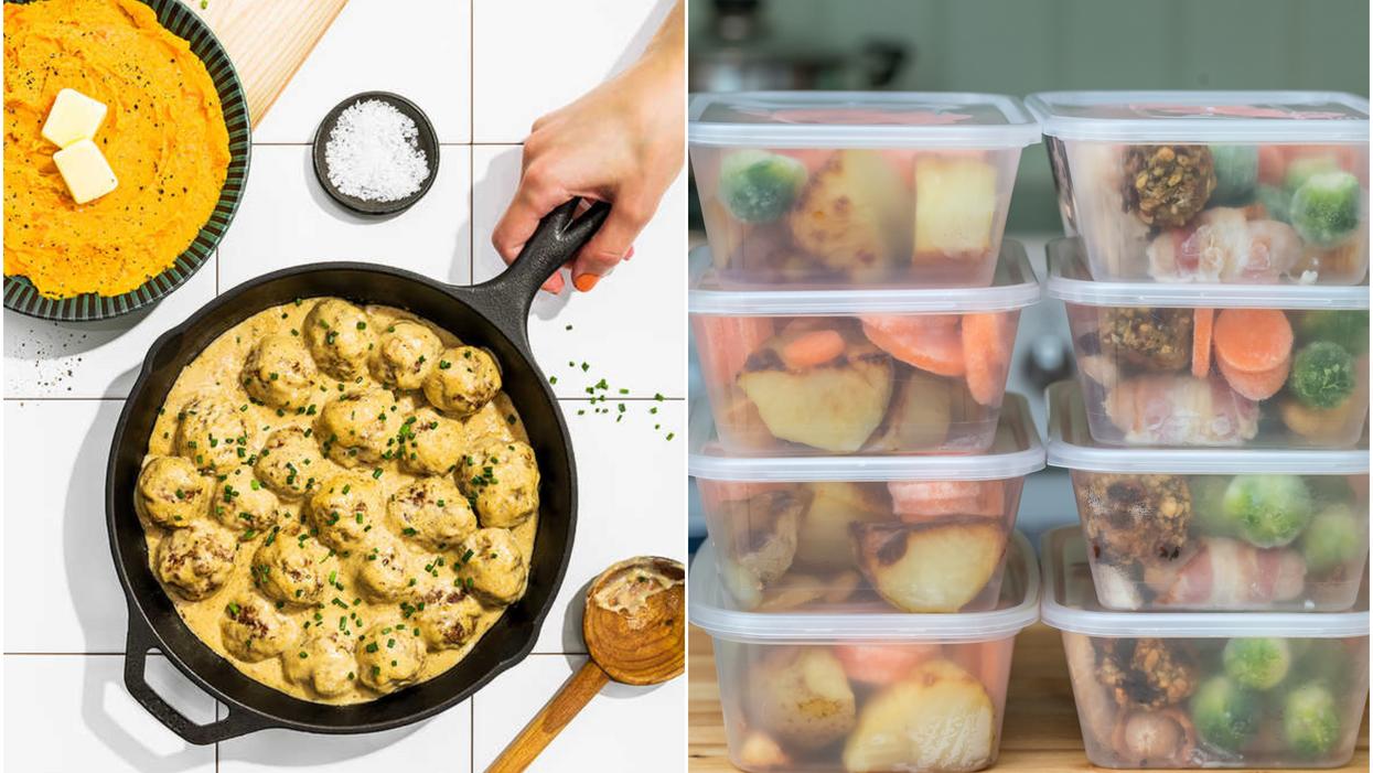 6 recettes que vous pouvez préparer et congeler pour toute la semaine
