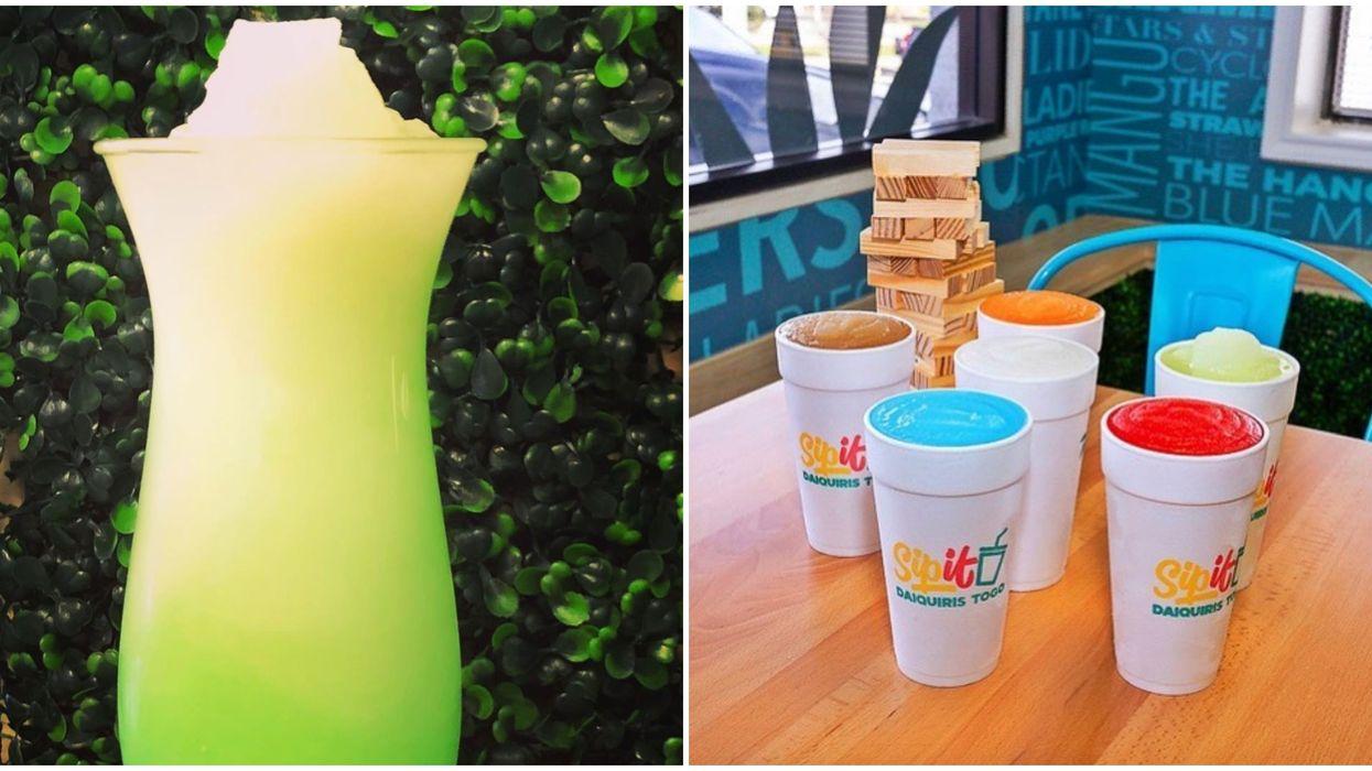 You Can Get Tipsy With This Boozy Daiquri Drive-Thru Near San Antonio