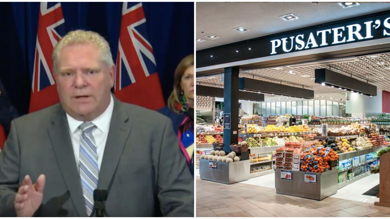 """Doug Ford Calls Pusateri's """"Disgusting"""" For Jacking Up Prices On Lysol Wipes"""