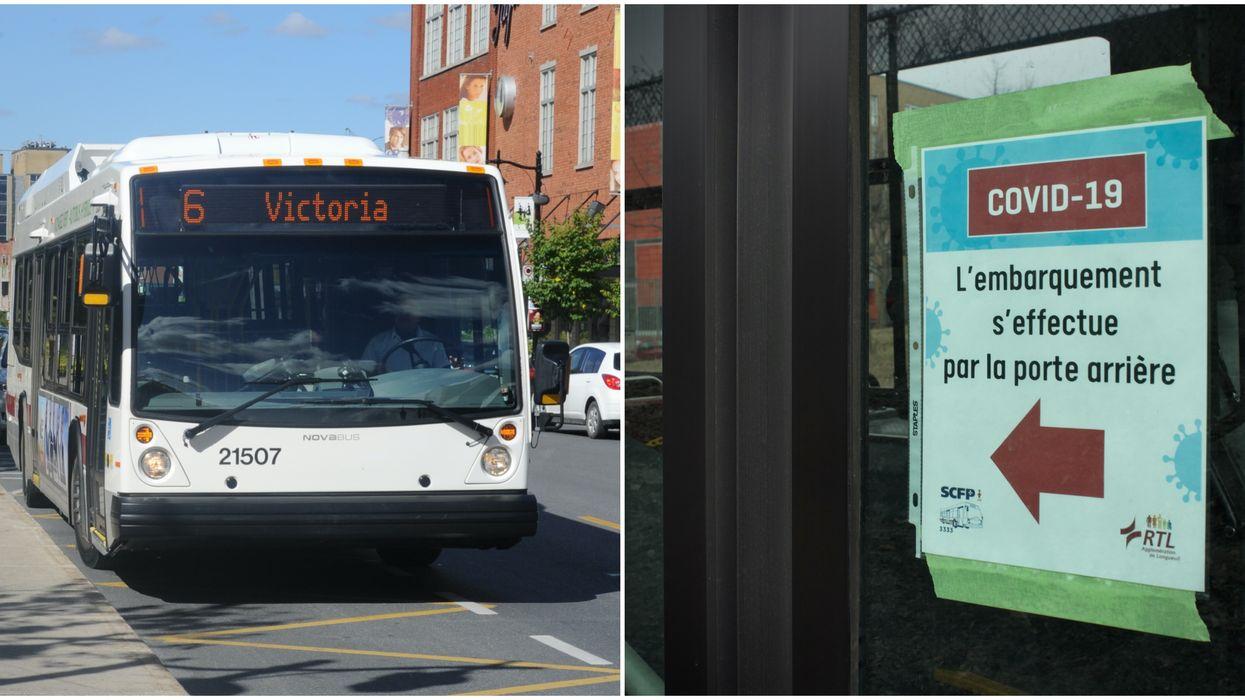 Des chauffeurs de bus du Grand Montréal se confient sur leurs inquiétudes pendant la crise